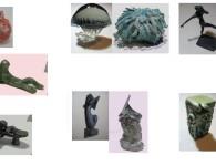 ARIMORTIS- 7 oggetti+ 7 ceramiche