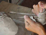 workshop di ceramica OP-u