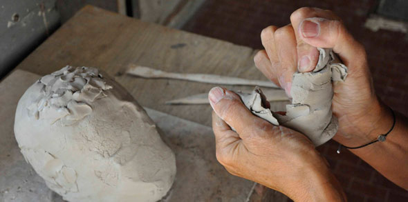 OP-u workshop ceramica cambiamento